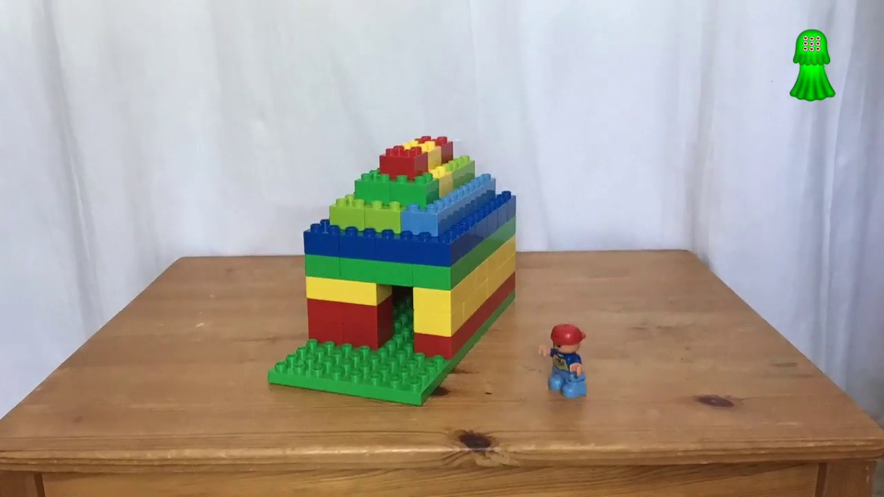 Comment Construire Une Maison En Lego How To Build A Lego House