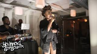 "Ledisi Performing New Single ""High"" at NYC Press Event 8/2/17"