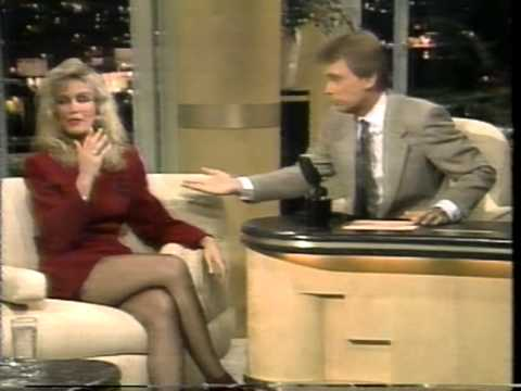 "Donna Mills interview on ""The Pat Sajak Show"" in 1989"