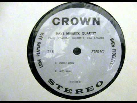 Paul Desmond Quartet: Purple Moon (Crown Records)