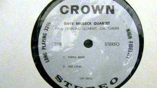 Paul Desmond Quartet: Purple Moon (Crown Records)