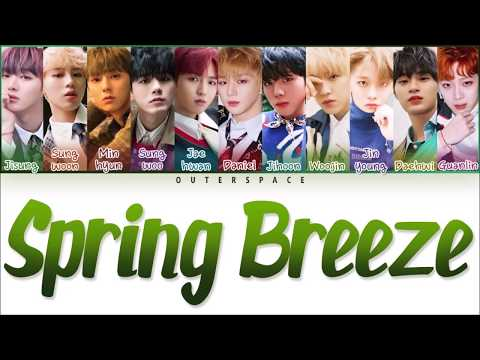 [Han/Rom/Vietsub] WANNA ONE - SPRING BREEZE (COLOR CODED)