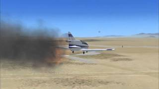 Bede-Homebuild BD-5 Engine fire