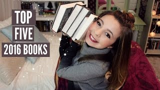 MY TOP 5 BOOKS OF 2016! + Q Announcement!