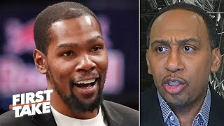 Stephen A. reacts to Kevin Durant's reasons for leaving the OKC Thunder | First Take