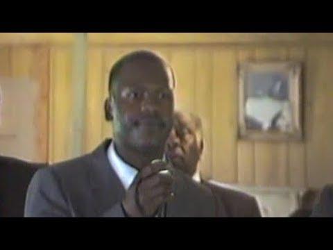 Curtis Flowers sings