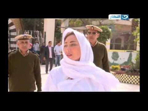 صبايا الخير  ريهام سعيد اثناء عملية التفتيش داخل سجن نساء القناطر  #SabayaElKheer