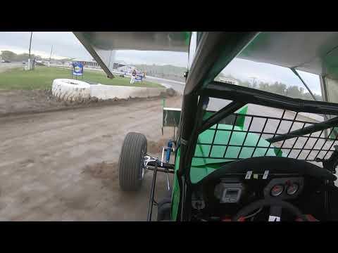 Dustin Purdy @ Fonda Speedway - Patriot Sprint Tour Hot Laps - May 25th, 2019