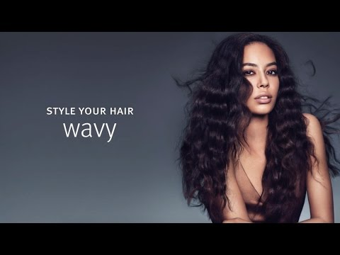 Aveda How-To | Styling Techniques for Wavy Hair with Tippi Shorter