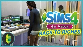 MUSIC PRODUCTION - Part 11 - Rags to Riches (Sims 4 Get Famous)