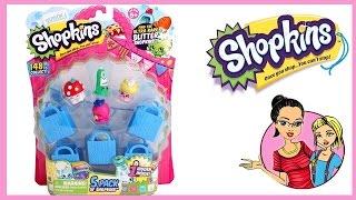 Cicibiciler Shopkins Seri 2 5'li Oyuncak Paket Açılışı