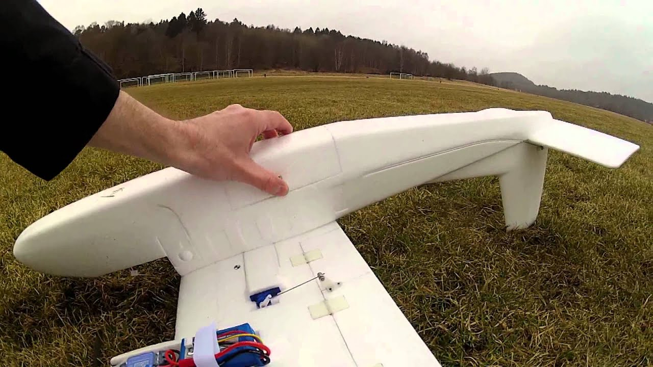 TwinStar FPV Project Maiden (RC Plane)