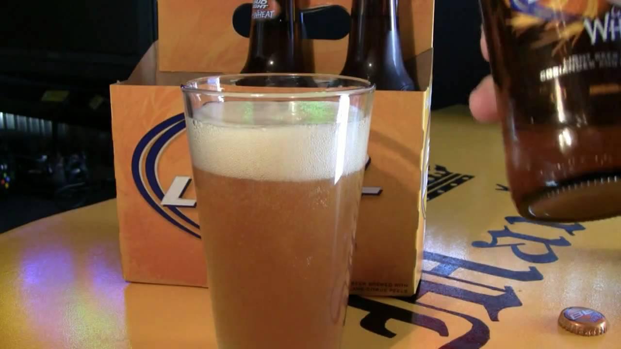 Manlandsite.com Bud Light Golden Wheat Beer Pour In HD!