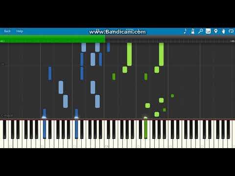 jaws theme-piano tutorial