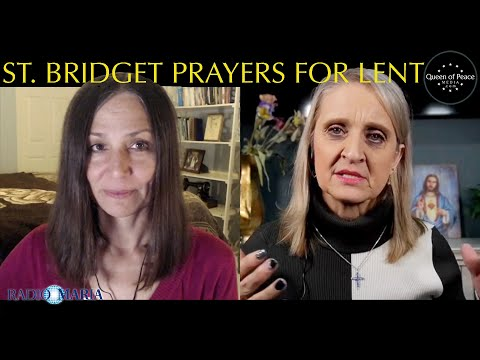 Powerful Prayers with Powerful Promises from Our Lord through St. Bridget of Sweden.
