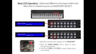 yamaha cp4 and cp40 stage piano performance