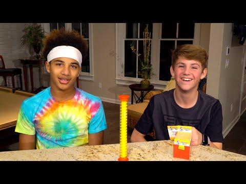 The 5 Second Rule Challenge! (MattyBRaps vs Justin)