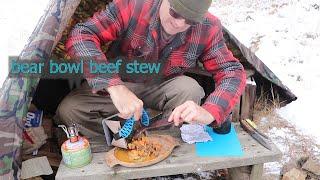 BEAR BOWL BEEF STEW