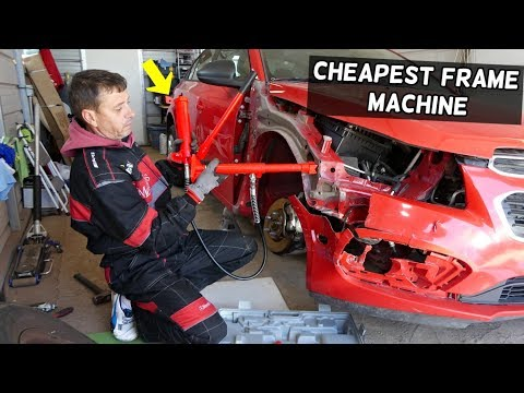 CHEAPEST CAR FRAME MACHINE REVIEW AND DEMONSTRATION  PRODUCT REVIEW