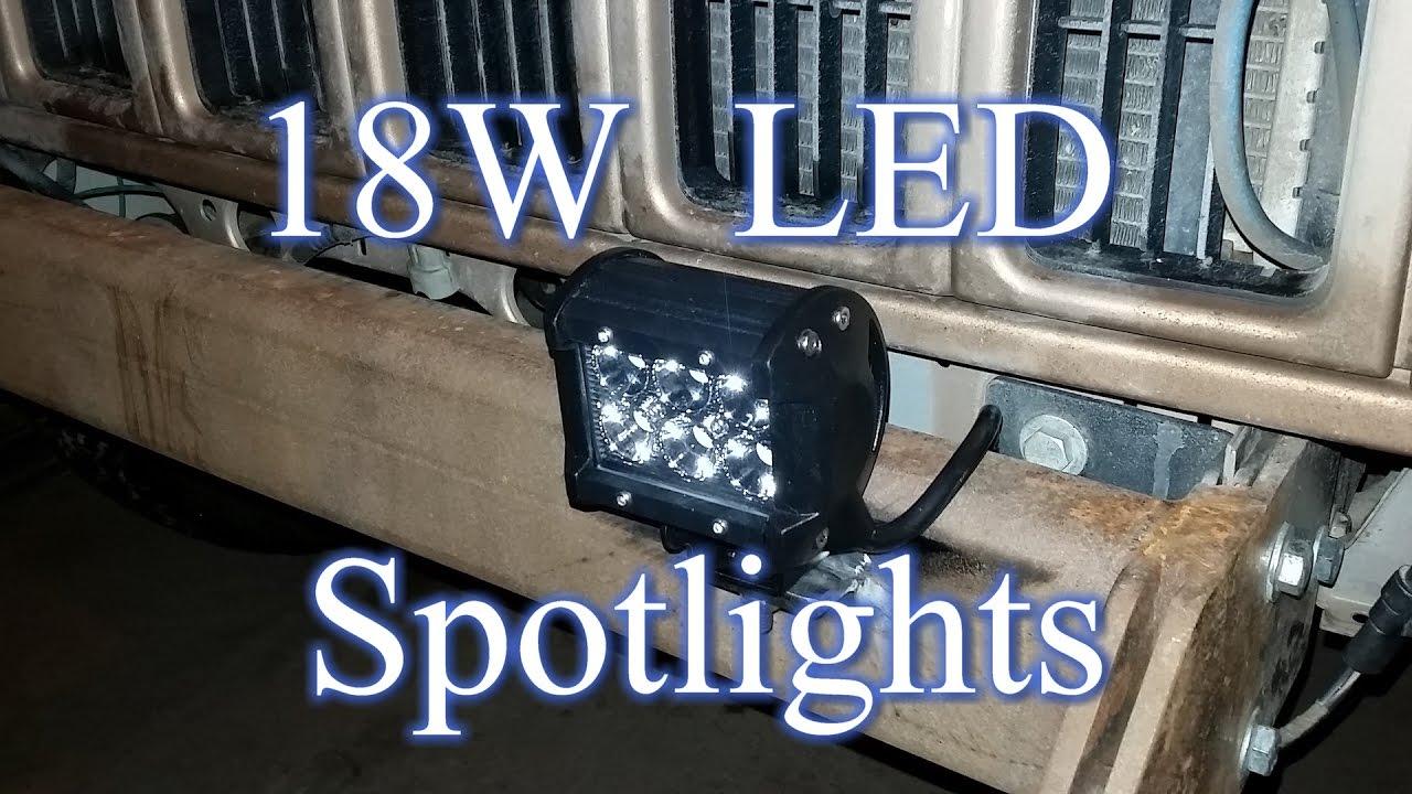 maxresdefault led spotlight install (nilight 18w cubes) 2000 jeep xj youtube  at readyjetset.co