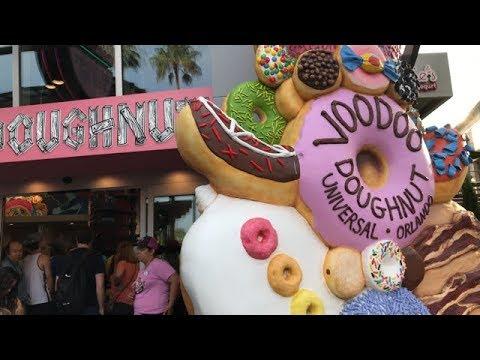 VooDoo Doughnuts At Universal Orlando City Walk Now Open