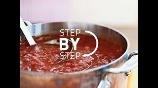 Marinara Sauce Recipe, How To Make Spaghetti Sauce, Homemade Marinara Sauce