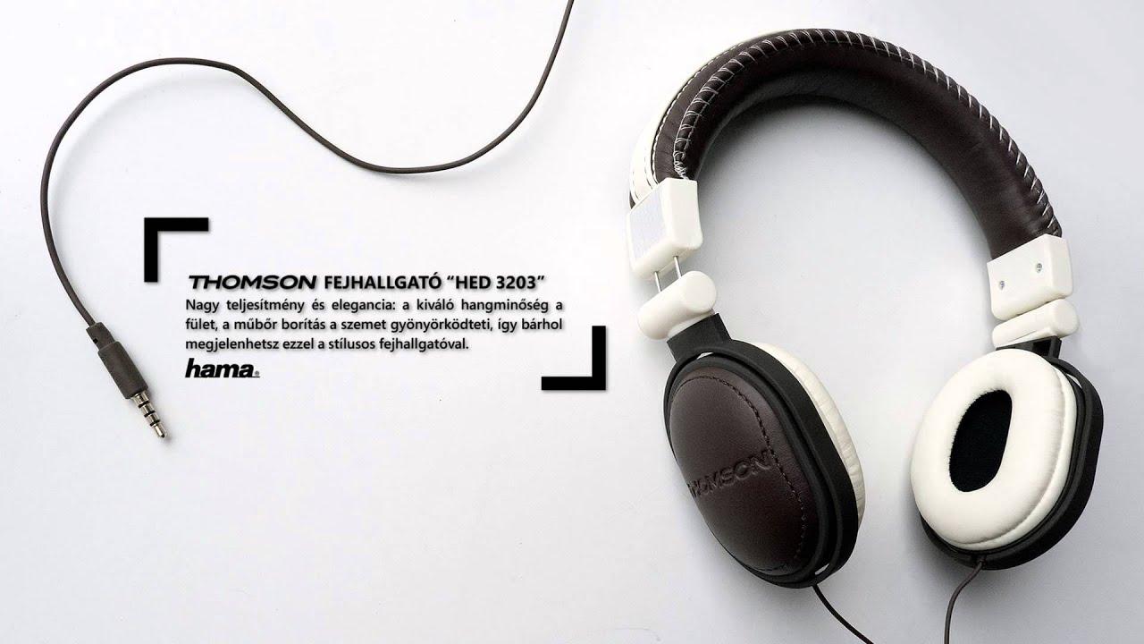a53f5433003d Thomson fejhallgató