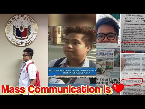 TIPS FOR INCOMING MASS COMMUNICATION STUDENTS! | Marc Arleson