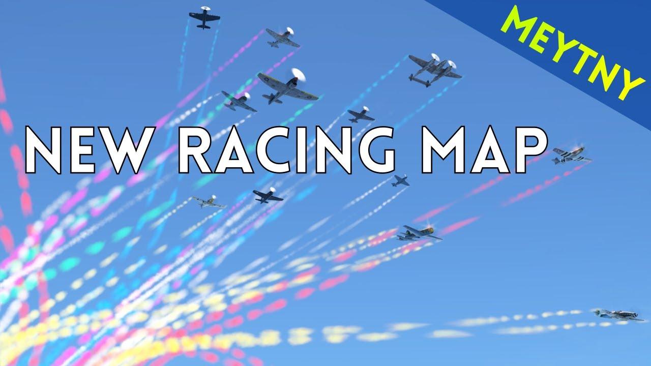 New Air Racing Map | FIRST, NO CRASH | Guiana Highlands | War ...