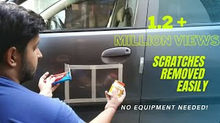 How to remove scratches easily from car | Colgate used | scratch remove from rubbing compound
