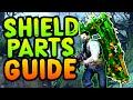 *ALL* SHIELD PART LOCATIONS (How to build the Shield in Zetsubou No Shima)