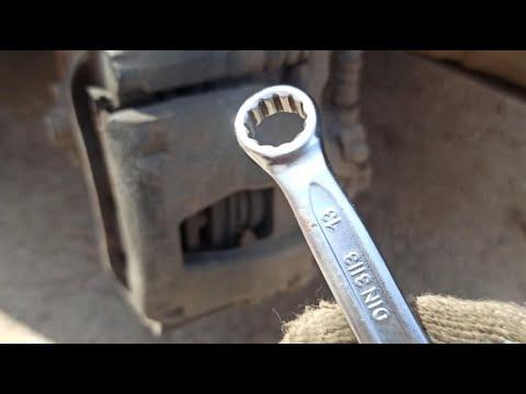 FIAT DOBLO замена колодок