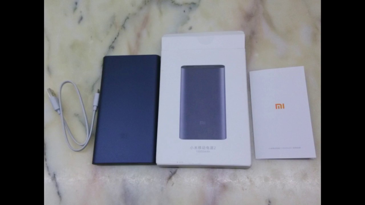 Original Xiaomi Ultra Thin 10000mah Mobile Power Bank 2 Black Mi Powerbank Gearbestcom