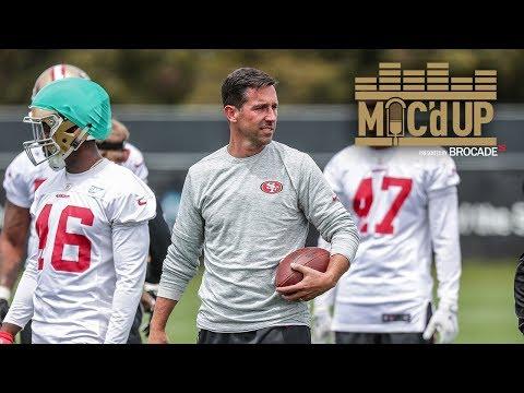 Mic'd Up: Head Coach Kyle Shanahan at 49ers OTAs