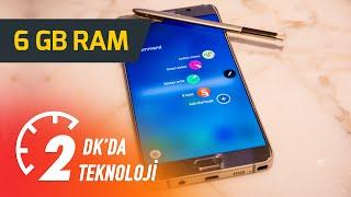 Samsung Galaxy Note 6 (6 GB Ram olur mu?) - 2Dk'da Teknoloji