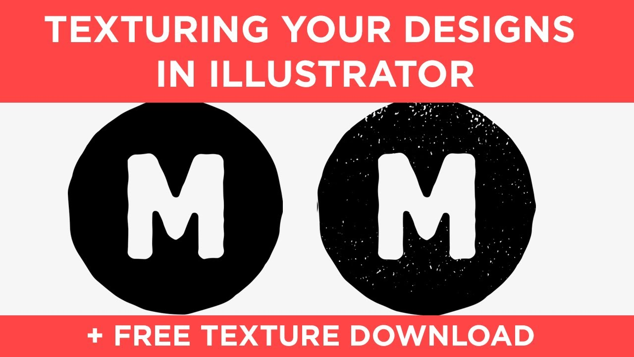 How to add gritty textures to your designs in Adobe Illustrator