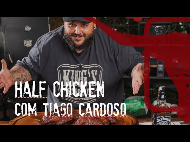 Half Chicken Defumado pelo Pitmaster Tiago Cardoso