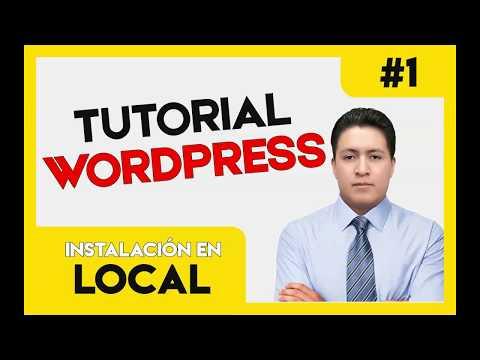 TUTORIAL WORDPRESS #1 🚀 Instalar en servidor LOCAL 2019 (Crear pagina web GRATIS) thumbnail