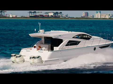 Inspire 2 OPEN OCEAN!!50mph// Mares Catamaran Outboard Express