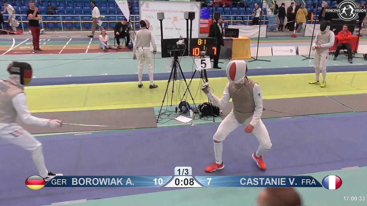 2018 1234 T16 04 M F Individual Halle Ger European Cadet