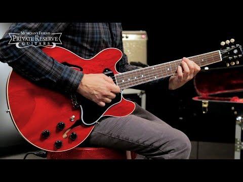 Gibson Custom Limited Run 2017 CS-336 Mahogany Semi-Hollow Electric Guitar