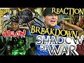 Official Shadow Of War Shelob Reveal Trailer Reaction BREAKDOWN mp3