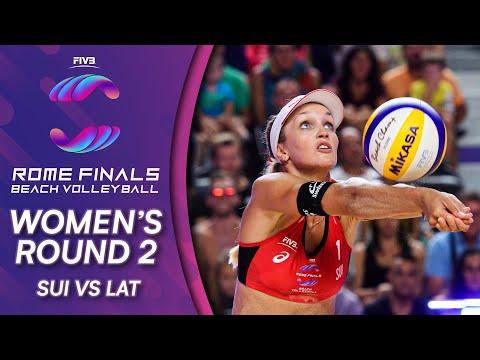 SUI vs. LAT | Women's Round 2 | Beach Volleyball World Tour Finals 2019