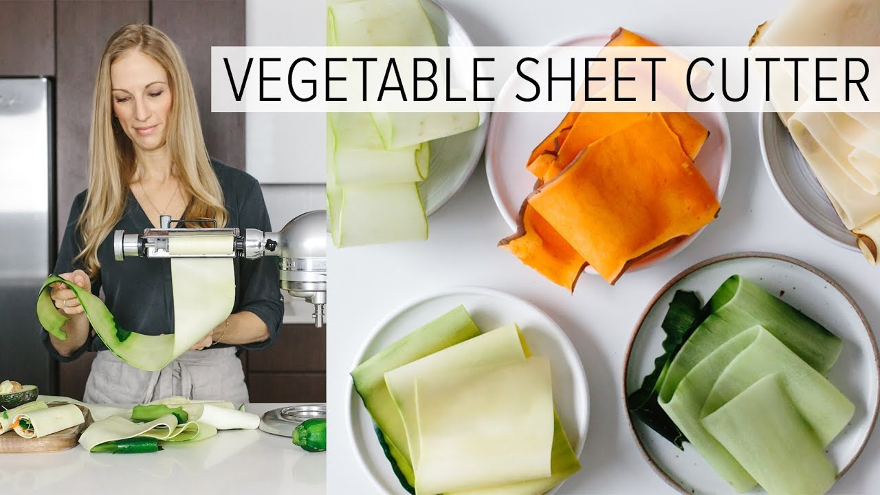 Vegetable Sheet Cutter Is This The Next Spiralizer Youtube