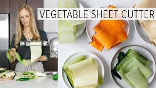VEGETABLE SHEET CUTTER | is this the next spiralizer?