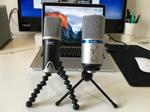 apogee mic vs irig mic studio microfoni usb a confronto youtube. Black Bedroom Furniture Sets. Home Design Ideas