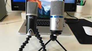 Apogee Mic e iRig Mic Studio sono due microfoni USB compatibili con...