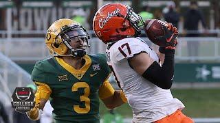 Oklahoma State Cowboys Vs. Baylor Bears | 2020 College Football Highlights