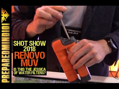 SHOT SHOW 2018: Renovo MUV: The Jessica of Water Filters? -