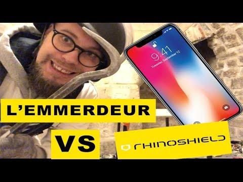 L' emmerdeur : Les protections Rhinoshield qui rendent votre téléphone incassable. Vraiment ?